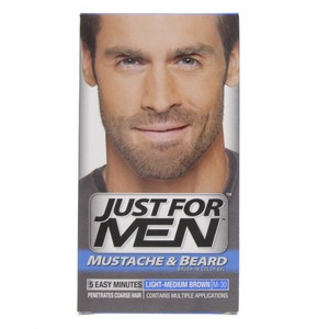 Just For Men Mustache & Beard Light - Medium Brown M - 30