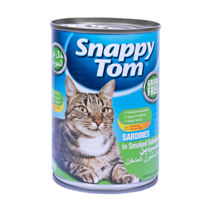 Snappy Tom Sardines in Smoked Salmon Jelly 400g