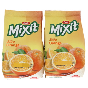 Lulu Mixit Orange Flavoured Instant Drink Pouch 2 x 500g