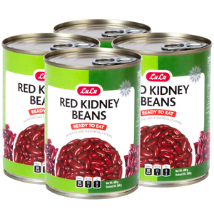 Lulu Red Kidney Beans 4 x 400g