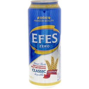 Efes Zero Non Alcoholic Beer 500ml