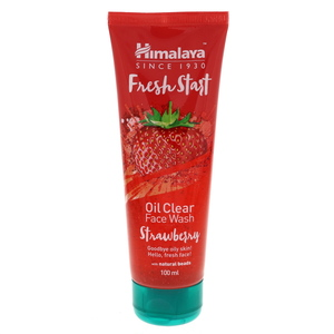 Himalaya Fresh Start Oil Clear Face Wash Strawberry 100ml