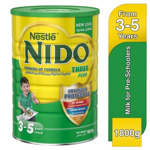 Nestle® Nido® Fortiprotect™ Three Plus Growing Up Milk 3-5 Years 1800g