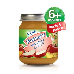 Farley's Apple & Peach Baby Food 120g