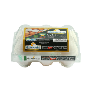Al Zain Oman's Farm Fresh White Eggs  6pcs