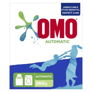 OMO Front Load Laundry Detergent Powder 260g