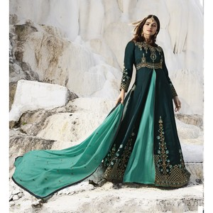 Semi Stitched Women's Gown Suit Vinay Kaseesh Supreme 8521