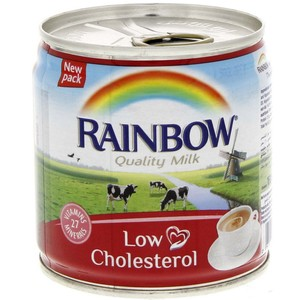 Rainbow Evaporated Milk Low Cholesterol 170g