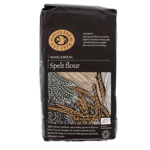 Doves Farm Organic Whole meal Spelt Flour 1 Kg