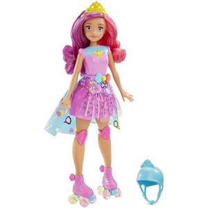 Barbie Video Game Hero Match Game Princess Doll, Pink DTW00