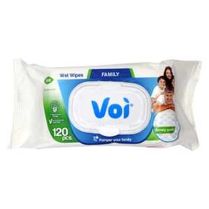 Voi Family Wet Wipes 120pcs