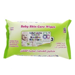 Mom Easy Baby Skin Care Wipes 80pcs