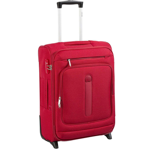 Delsey Manitoba 4Wheel Soft Trolley 82cm Red