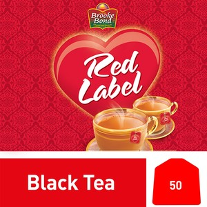 Brooke Bond Red Label Black 50 Teabags