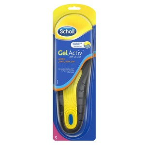 Scholl Gel Activ Work Insoles for Women 1pair