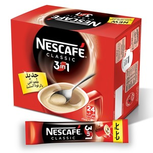 Nescafe 3 In1 Instant Coffee Mix Sachet 20g