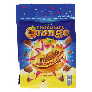 Terry's Minis Chocolate Orange Exploding Candy 125g