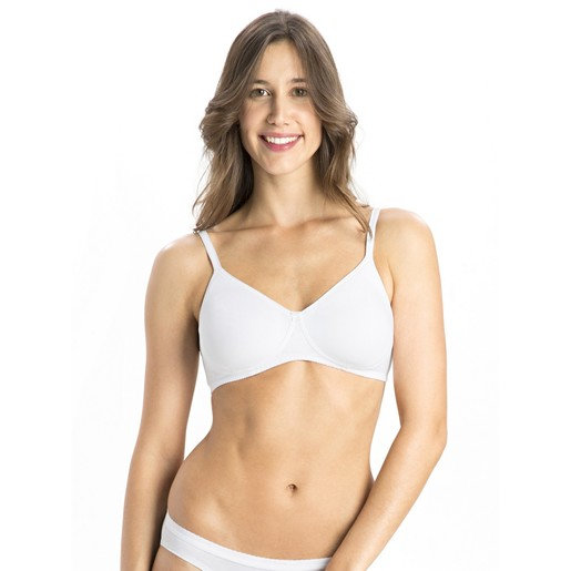 Jockey Women's Seamless Shaper Bra 1722 White 34B