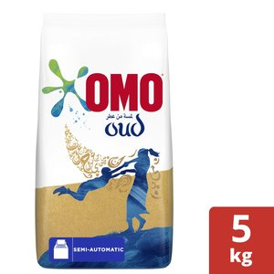 OMO Top Load Laundry Detergent Powder with Comfort Oud 5kg