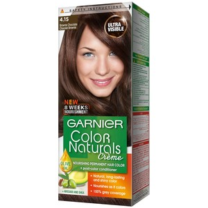 Garnier Color Naturals 4.15 Brownie Chocolate Hair Color 1 Packet