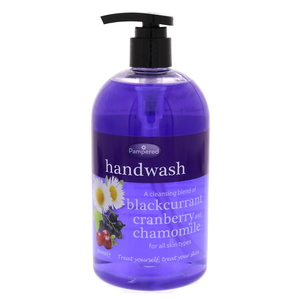 Pampered Hand Wash Balckcurrant, Cranberry & Chamomile 500ml