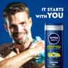 Nivea Shower Gel Energy For Men 250ml