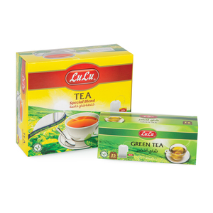 Lulu Special Blend Tea 100pcs + Green Tea 25pcs