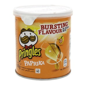 Pringles Paprika Bursting Flavour 40g