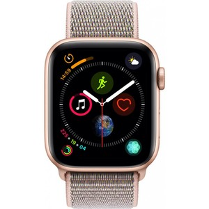Apple Watch Series 4 - GPS 44mm Gold Aluminium Case with Pink Sand Sport Loop
