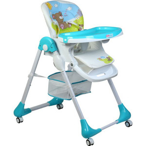 First Step Baby High Chair G188 Blue