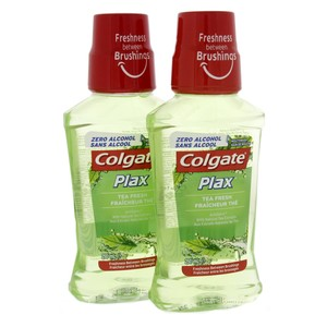 Colgate Mouth Wash Plax Fresh Tea 2 x 250ml