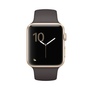 Apple Watch 2 Sport MNPN2 42mm Gold Aluminum Case With Cocoa Sport Band