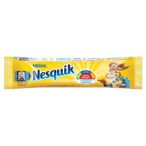 Nestle Nesquik Sweetened Cocoa Mix Powder 14.3 gm x 32 Pieces