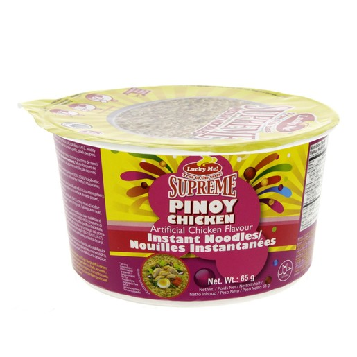 Lucky Me Supreme Pinoy Chicken Instant Noodles 65g