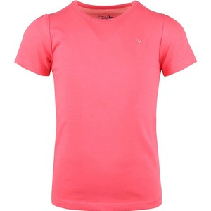 Eten Girls Basic Round-Neck Short Sleeve Paradise Pink 2-8 Y