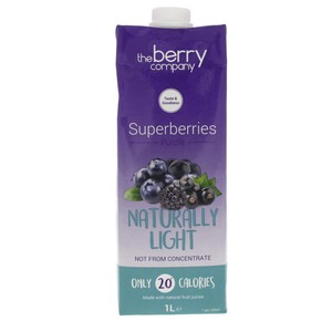 The Berry Company Superberries Purple Naturally Light 1Litre