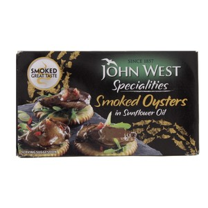 John West Smoked Oysters 85g