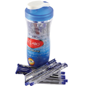 Claro Ball Pen20 Piece with Bottle