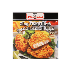 Al Kabeer Zing Fish Fillets 390g