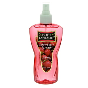 Body Fantasies Strawberry Fragrance Body Spray 236ml