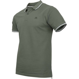 De Backers Organic Cotton Men's Polo Earth Green Medium