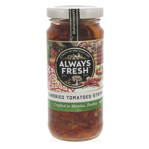 Always Fresh Sundried Tomatoes - Strips 220g