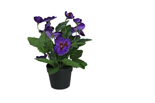 Home Style Artificial Flower With Pot