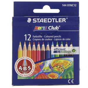 Staedtler Noris Club Color Pncils 14401NC12 12Piece