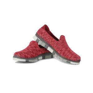 Skechers Women's Sports Shoes 14015RDGY Red Gray