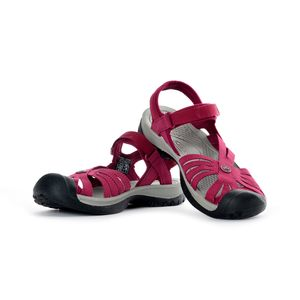 Keen Women's Rose Sandal Beet Red/Grey