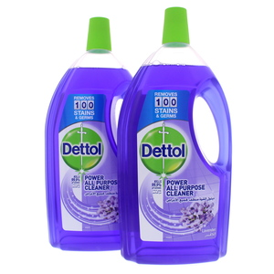 Dettol Power All Purpose Cleaner Lavender 2 x 1.8Litre