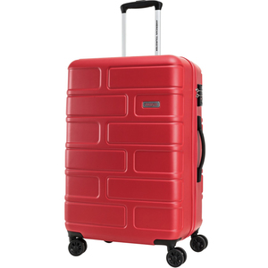 American Tourister Bricklane 4 Wheel Hard Trolley 69cm Red