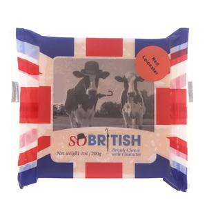 So British Red Leicestar Cheese 200g