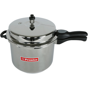 Premier Stainless Steel Pressure Cooker With Seperator 10Ltr